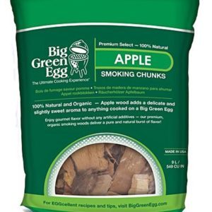 Big Green Egg Apple Chuncks 2