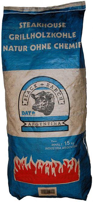 Black Ranch Houtskool 15 kg