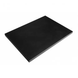 Happy Cocooning Stalen deksel rechthoek zwart