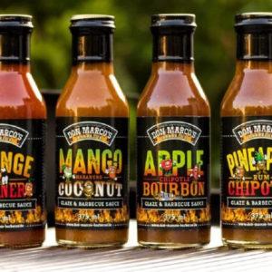 Don Marco's Ananas/ Chipotle/ Rum Glaze & BBQ saus