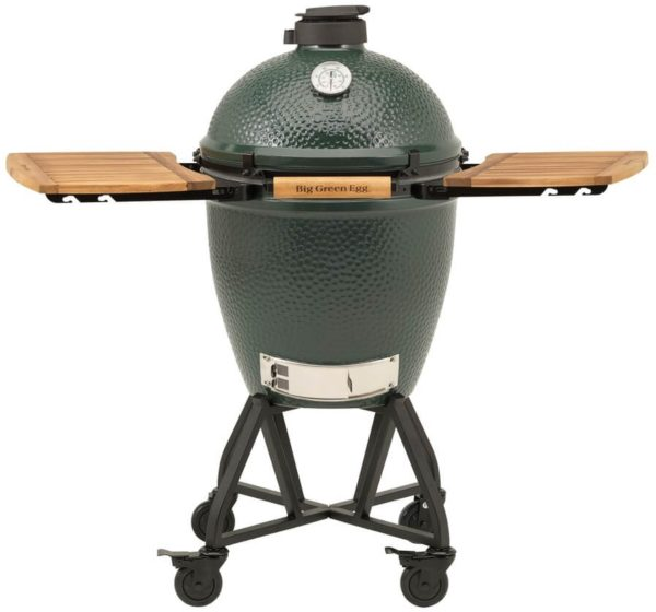 Big Green Egg Large + Integgrated Nest+Handler + Zijtafels